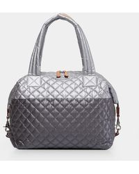MZ Wallace Quilted Tin/steel Metallic Large Sutton - Multicolour
