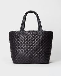 MZ Wallace Large Metro Tote Deluxe - Black