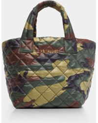 MZ Wallace - Quilted Camo Micro Metro Tote - Lyst
