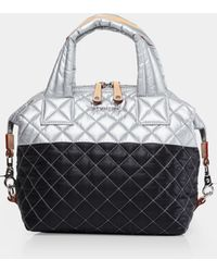 MZ Wallace - Quilted Tin/black Small Sutton - Lyst