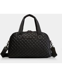 MZ Wallace Quilted Black Travel Jimmy
