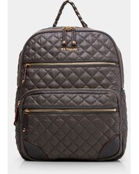 MZ Wallace Crosby Backpack Traveller - Grey