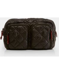 MZ Wallace - Quilted Black Medium Savoy Cosmetic - Lyst