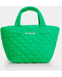 MZ Wallace - Quilted Grass Micro Metro Tote - Lyst