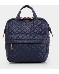 MZ Wallace Small Top Handle Backpack - Blue
