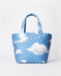 MZ Wallace - Quilted Cloud Print Medium Metro Tote - Lyst