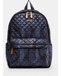 MZ Wallace Dawn City Backpack - Blue