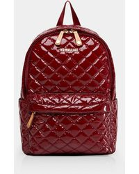 MZ Wallace Small Metro Backpack - Red