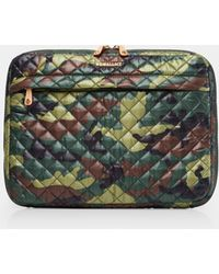 MZ Wallace - Quilted Camo Metro Organizer - Lyst