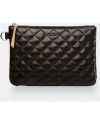 MZ Wallace Small Metro Pouch - Black
