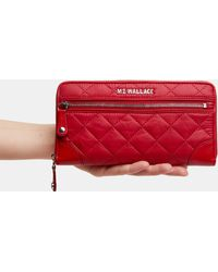 MZ Wallace - Apple Crosby Long Wallet - Lyst