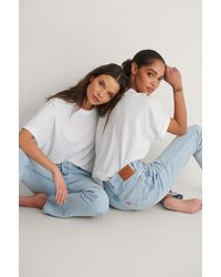 Levi's 501 Crop Jeans - Blauw