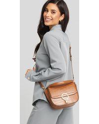 Mango Brown Malpensa M Bag