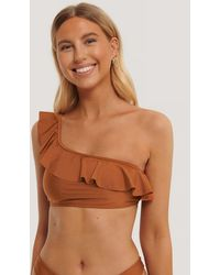 NA-KD - Culotte De Bikini Taille Échancrée - Lyst
