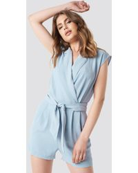 cheaper reliable quality usa cheap sale Hippo Playsuit Blue