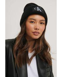 Calvin Klein Bonnet À Logo - Noir