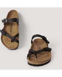 Birkenstock Slip-in Sandaal - Zwart