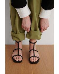 NA-KD Shoes Sandalen - Zwart
