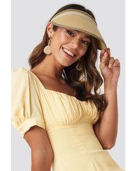 Trendyol Straw Hat Beige - Natural
