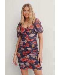 Trendyol Mini-jurk Met Bloemenprint - Meerkleurig