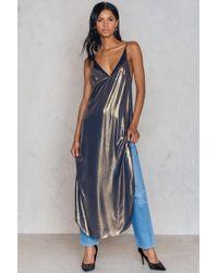 Free People - Anytime Shine Slip Dress - Lyst