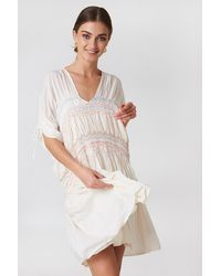 Free People - Love Of The Run Midi Dress White - Lyst