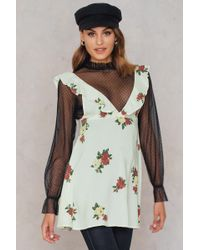 Motel Rocks - Kasmara Dress Floral Rose Cream - Lyst