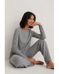 Trendyol Grey Pyjamas Set