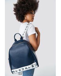 NA-KD Blue Backpack