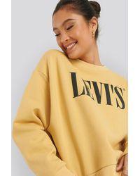 Levi's Graphic Diana Crew 90s Sweater - Mehrfarbig