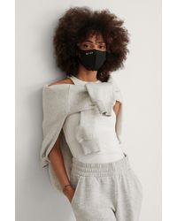 NA-KD Masque Fashion - Noir