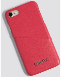 Calvin Klein - Frame Iphone 7/8 Cover - Lyst