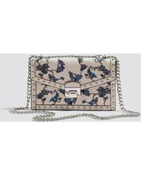 Mango - Studded Embroidered Bag - Lyst