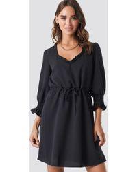 Trendyol - Milla U Dress Black - Lyst