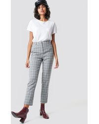 NA-KD - Classic Straight Leg Suit Pants - Lyst