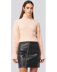 Rut&Circle Nellie Pu Skirt Black