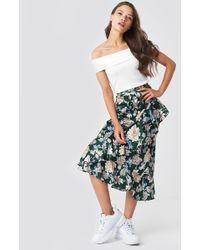Rut&Circle - Isa Flower Frill Skirt - Lyst