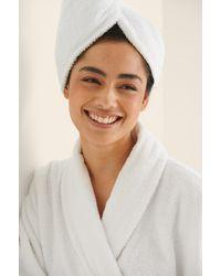 NA-KD Lingerie Haarband Van Biologisch Katoen - Wit