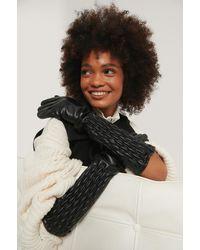 NA-KD Accessories Handschoen - Zwart