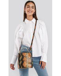 NA-KD Multicolor Metal Handle Bucket Bag