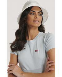 NA-KD Accessories Organza Bucket Hat - Weiß