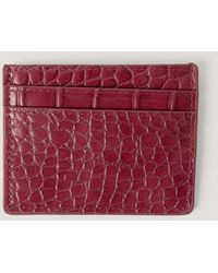 NA-KD Red Quilted Card Holder