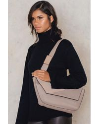 CALVIN KLEIN 205W39NYC - Jillian Lux Medium Shoulder Bag - Lyst