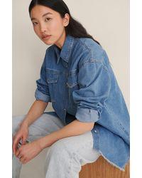 Trendyol Blue Milla Jeans Jacket