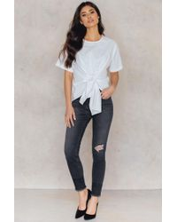 CALVIN KLEIN 205W39NYC - High Rise Skinny Rebel Jeans - Lyst