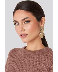 Mango Gold Daura Earrings - Metallic