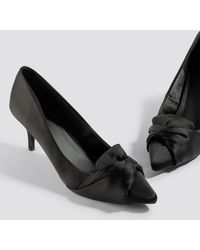 NA-KD - Satin Court Shoes - Lyst