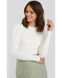 Sisters Point Perle Ls Top - Wit