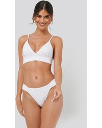 NA-KD - Gathered Bikini Panty - Lyst