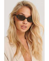 NA-KD Accessories Ovale Retro-Sonnenbrille - Mehrfarbig